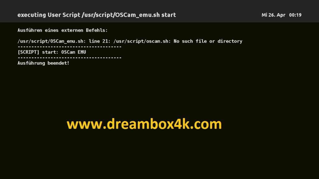TUTO] Installieren Sie OSCAM auf OOZOON (DM900) – Dreambox4K