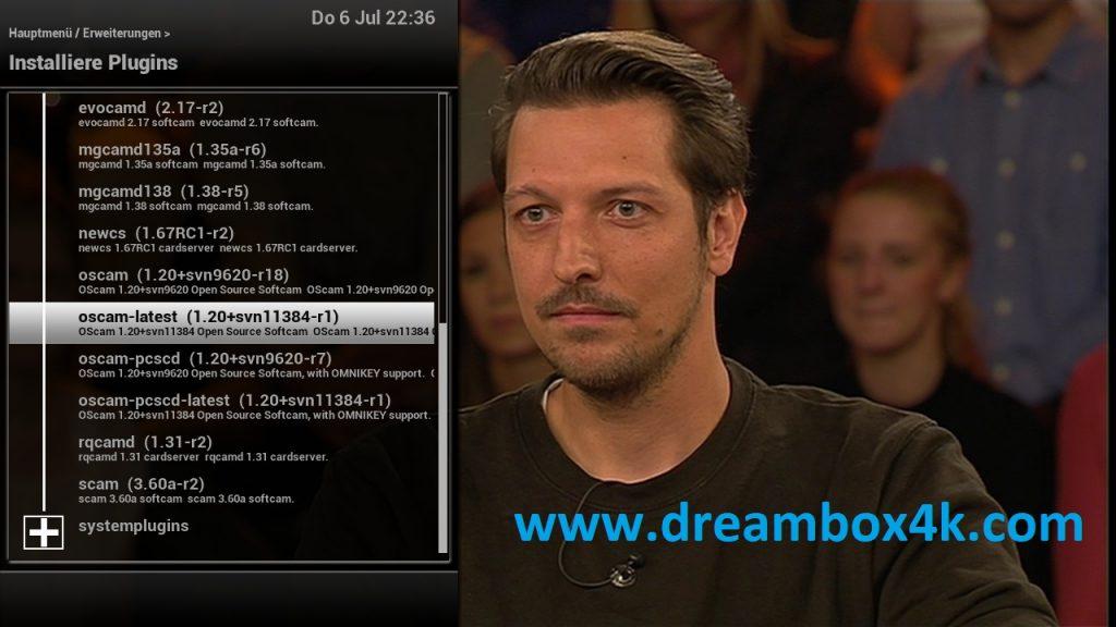 TUTO] Installieren Sie OSCAM auf OpenVIX – Dreambox4K