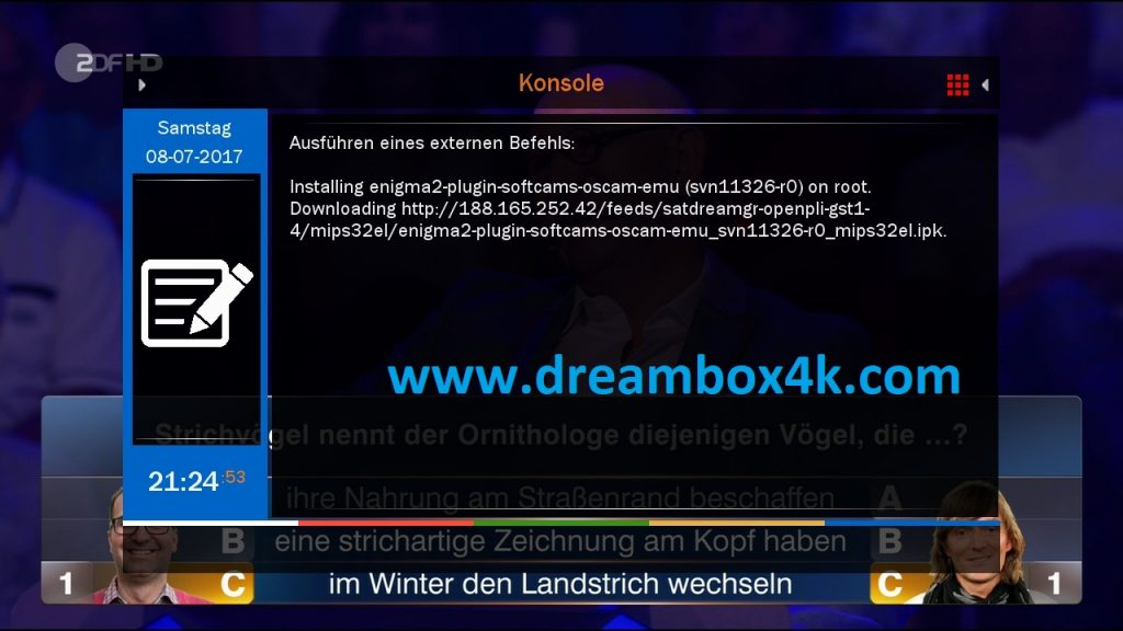 TUTO] Installieren Sie OSCAM auf SatDreamGR – Dreambox4K