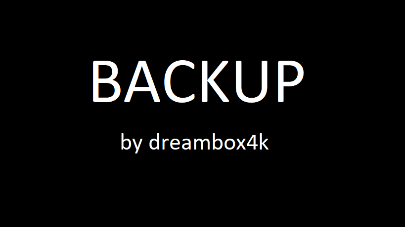 [BACKUP] OpenVIX 5.1 für Gigablue Quad 4k UHD (DREAMBOX4K)