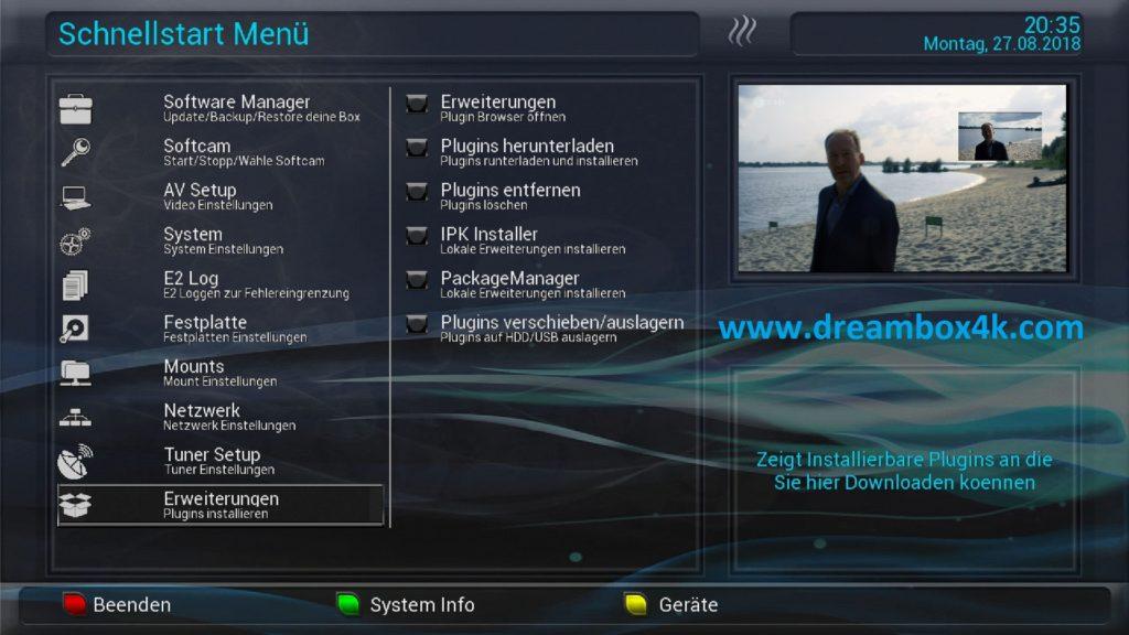 TUTO] Installieren Sie CCCAM auf OpenNFR – Dreambox4K