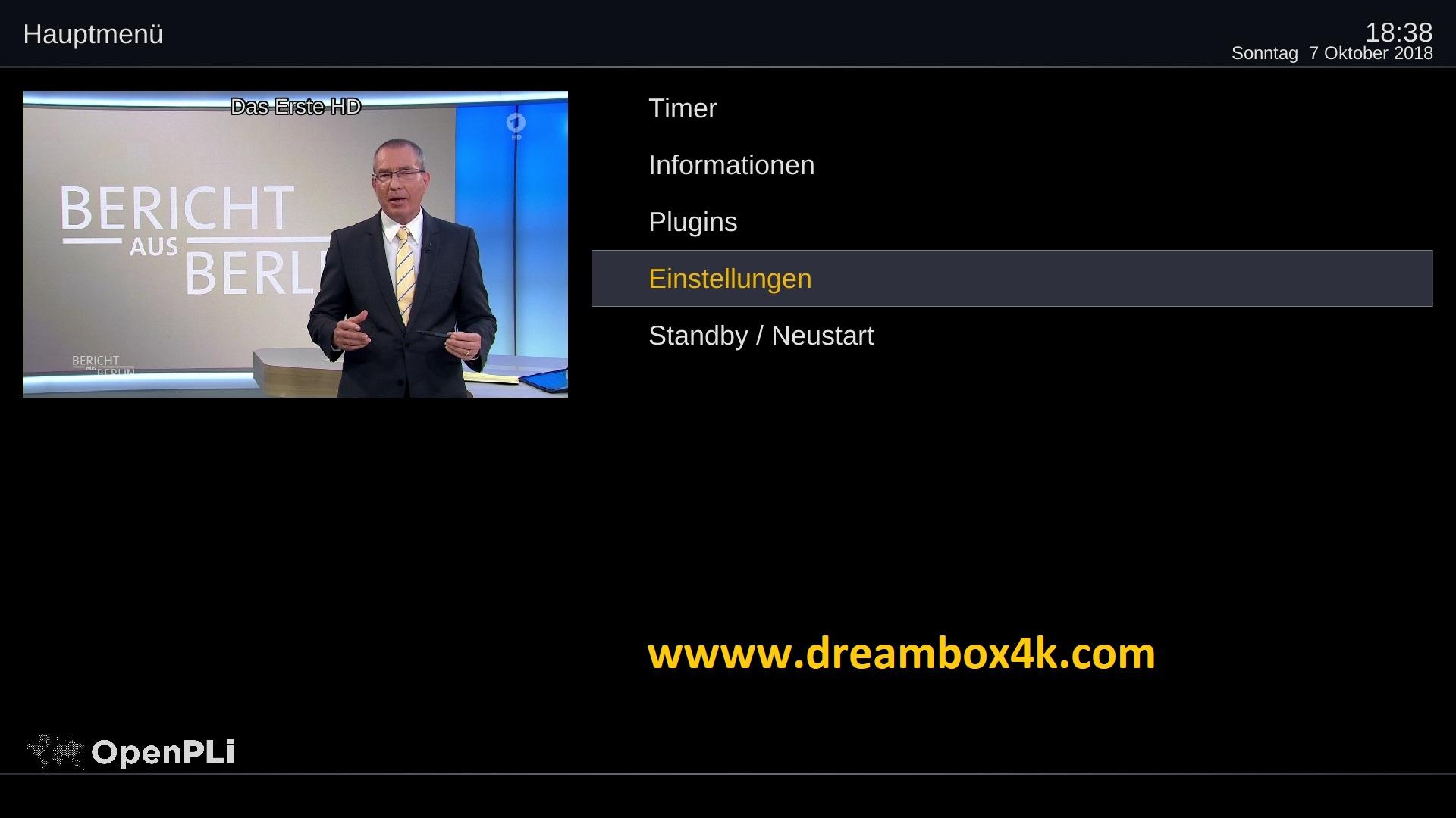 TUTORIAL] So richten Sie Wireless auf OpenPLi ein – Dreambox4K