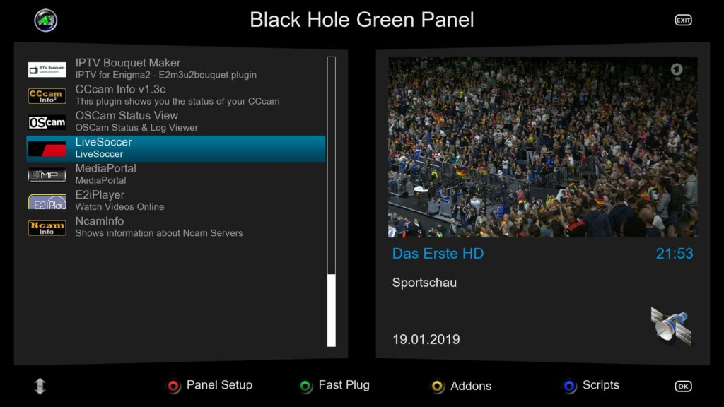 BACKUP] BLACKHOLE 3 0 8 for Vu+ DUO 4K – VUPLUS4K