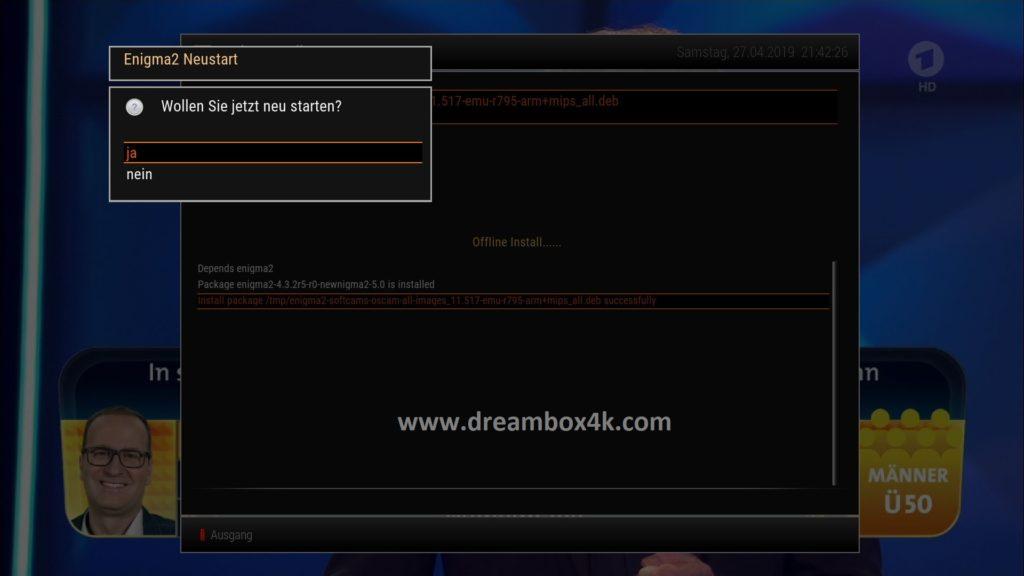 TUTO] Installieren Sie OSCAM auf NewNigma2 – Dreambox4K
