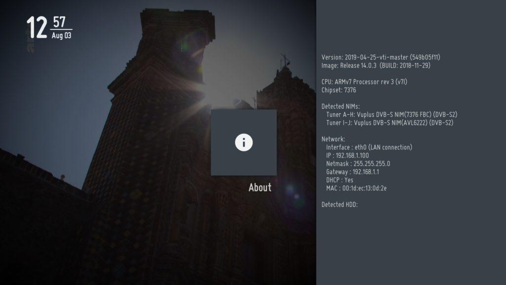 BACKUP] VTI 14 0 3 for Vu+ SOLO 4K (DM4K) – VUPLUS4K